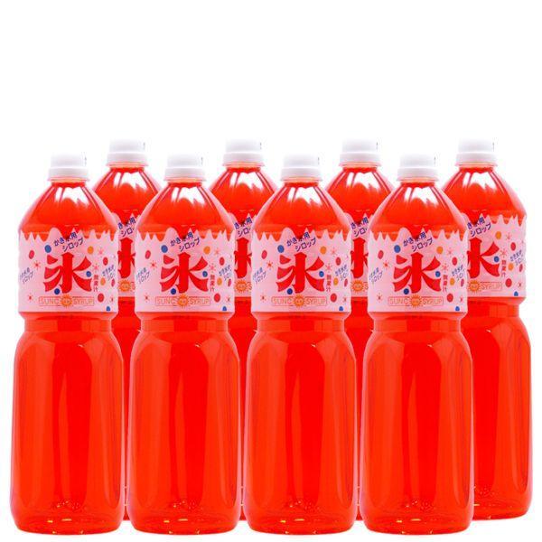 かき氷(カキ氷)シロップ オレンジ 1.8L×8本