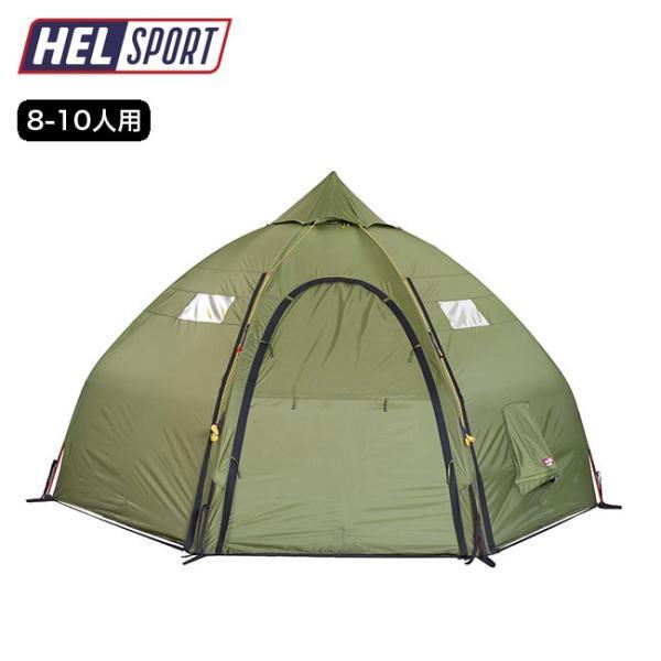 Helsport ヘルスポート バランゲルドームテント 8-10人用 ドーム型テント 薪ストーブ キャンプ アウトドア
