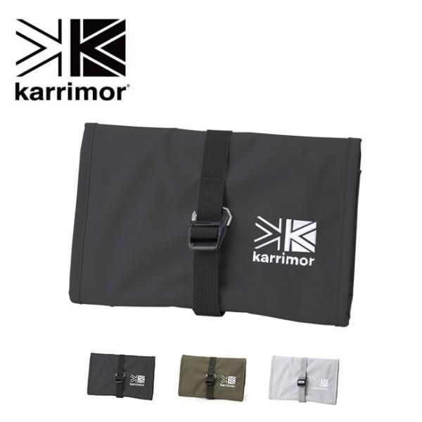 karrimor カリマー ハビタットシリーズロールポーチ 小物 ポーチ 収納ケース 財布