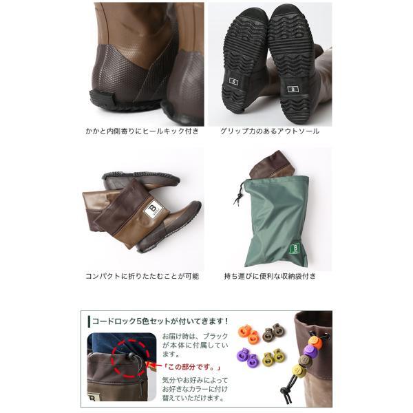 日本野鳥の会 バードウォッチング長靴 レインブーツ 雨靴 バードウォッチング  野外フェス ガーデニング 園芸|sundaymountain|06