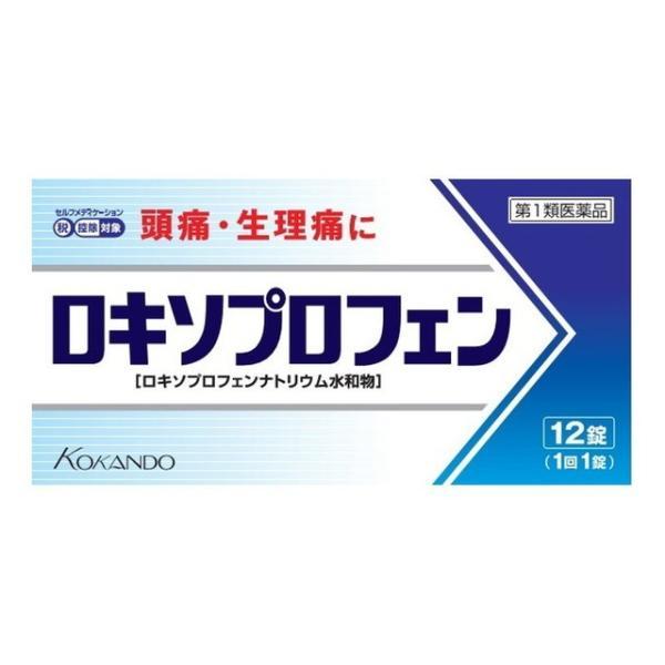 スイッチOTC  第1類医薬品 ロキソプロフェン12錠※STEP6完了後3〜7日でのご予定。