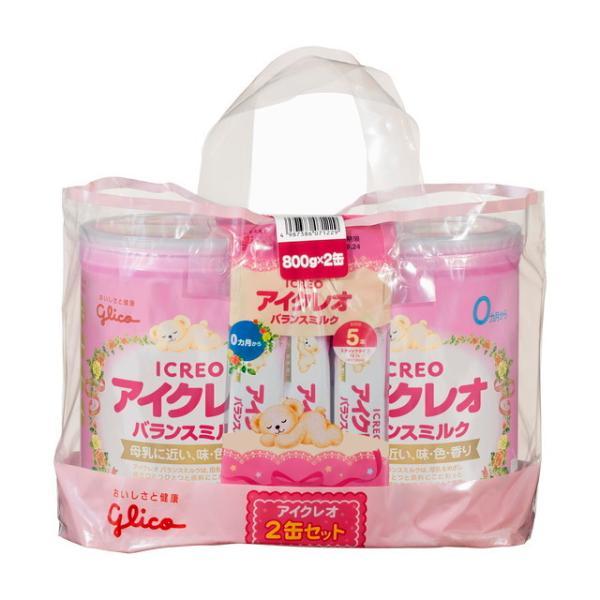 ◆アイクレオのバランスミルク 800g×2缶セット