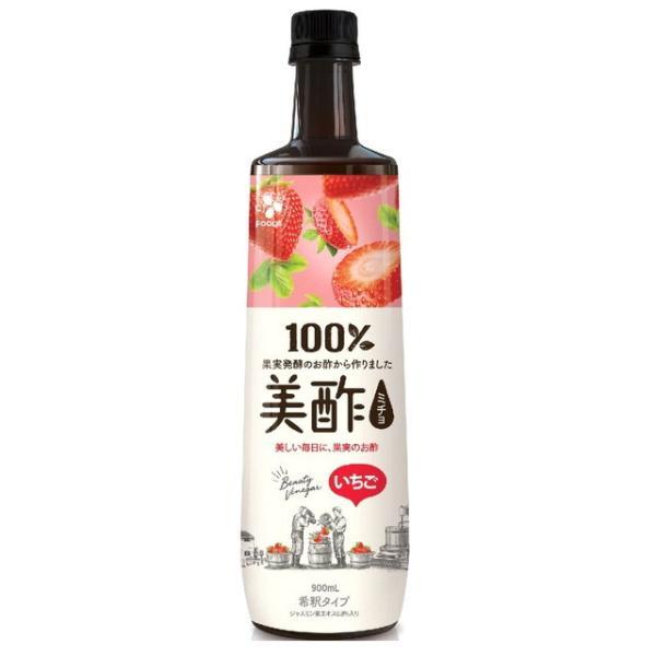 ◆シージェイジャパン 美酢(ミチョ) いちご 900ml ※発送まで7〜11日程