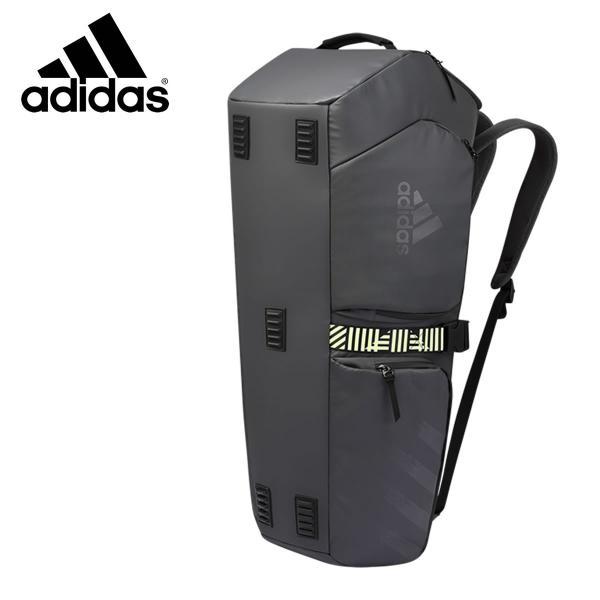 adidas BG920211 アーバン ラケットバッグ(6本入) グレイ バドミントン アディダス【取り寄せ】