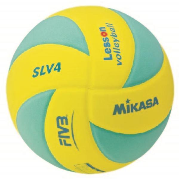 MIKASA SLV4-YLG バレーボール ボール レッスンバレー 4号軽量 ミカサ【取り寄せ】