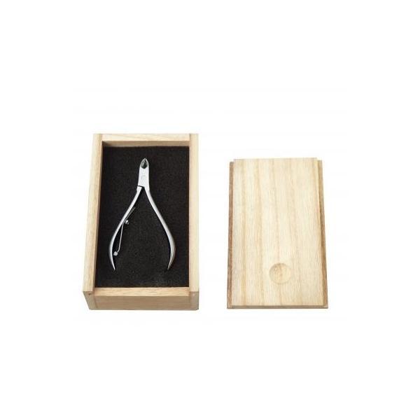 【巧みなお手入れ爪切り12個入り】高級感あふれる桐箱入りです。斜め 刃先 巻き爪 美しい爪 贈り物 ギフト プレゼント sunfield-silica