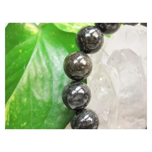 ブレスレット 黒翡翠品質AAAΦ13.6±0.2mm 鑑定書付き|sunflower-shop|02