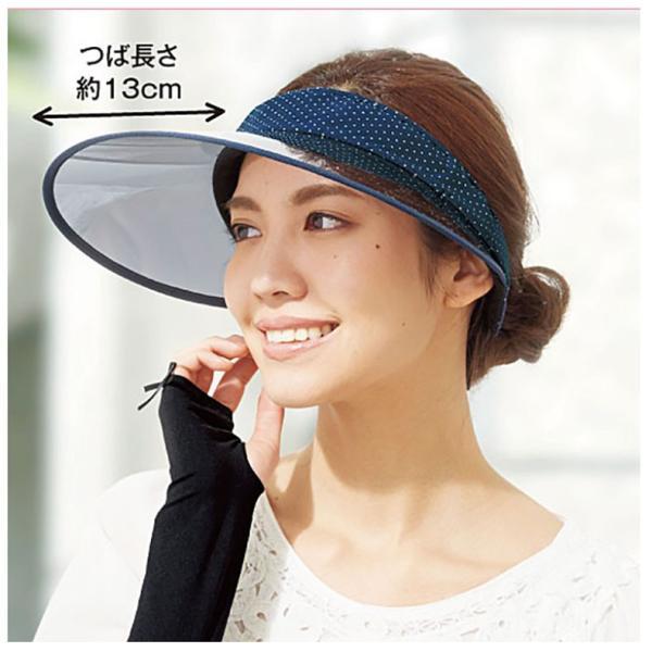 サンバイザー つば広帽子 UVカット帽子 日焼け止め対策 おしゃれな夏帽子 自転車通勤 通学 通勤 ゴルフ|sunflower-y|11