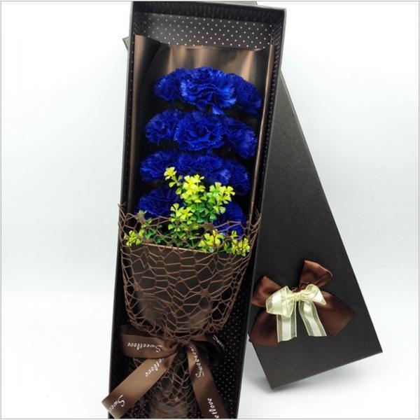 カーネーション ソープフラワー いい香り 母の日ギフト カーネーション花ボックス 永遠の  花 お祝い お見舞い sfw1802|sunflower-y|03