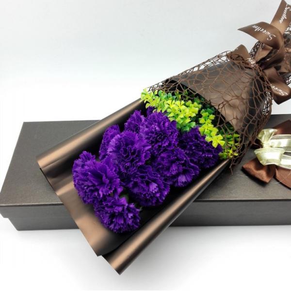 カーネーション ソープフラワー いい香り 母の日ギフト カーネーション花ボックス 永遠の  花 お祝い お見舞い sfw1802|sunflower-y|05