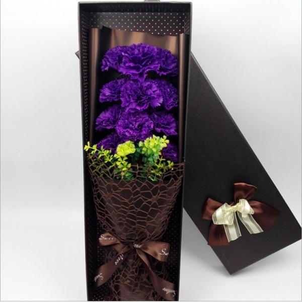 カーネーション ソープフラワー いい香り 母の日ギフト カーネーション花ボックス 永遠の  花 お祝い お見舞い sfw1802|sunflower-y|06
