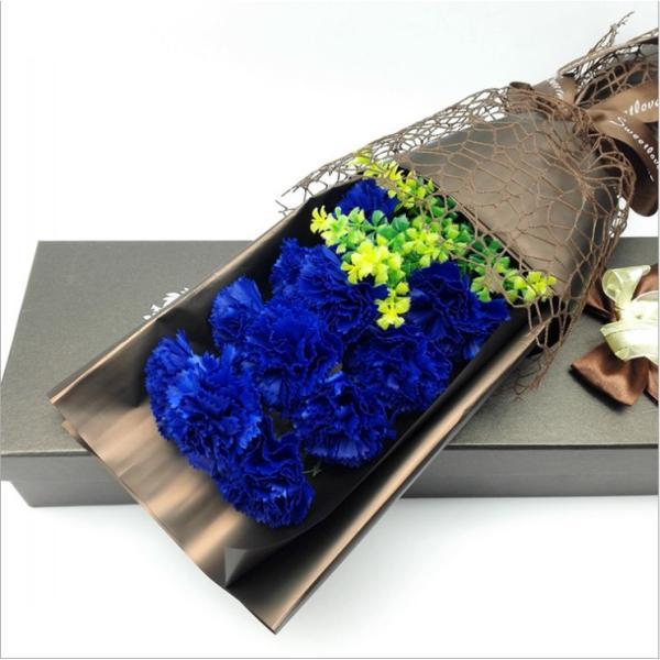 カーネーション ソープフラワー いい香り 母の日ギフト カーネーション花ボックス 永遠の  花 お祝い お見舞い sfw1802|sunflower-y|08