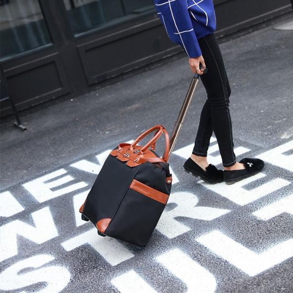 スーツケース 機内持ち込み 2WAYキャリーバッグ ミニ キャスター付きリュック キャリーケース キ  ャリーバッグ 小型 人気  超軽量 大容量|sunflower-y|04