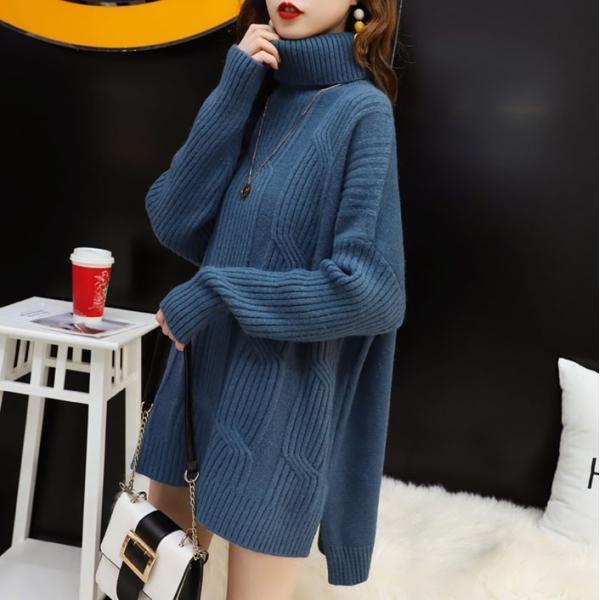 ニット セーター レディース ニットセーター 長袖 秋 冬 レディースファッション 20代|sunflowerhouse|10