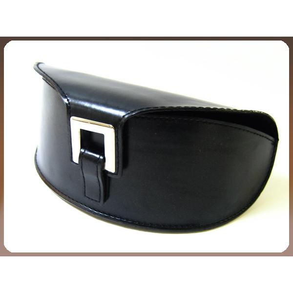 サングラスケース ハード おしゃれ 8カーブ ブラック レディース メンズ ユニセックス