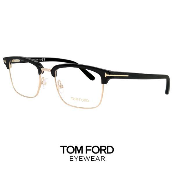 トムフォード メガネ ft5504/v 001 バネ蝶番 TOM FORD 眼鏡 tomford tf5504 ブロー サーモント ウェリントン 黒縁