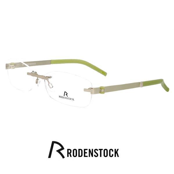 ローデンストック メガネ r4712-a レディース 小顔の男性向き RODEN STOCK 眼鏡 女性用 rodenstock 軽量 フレーム ツーポイント スクエア