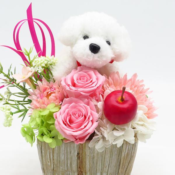 プリザーブドフラワー バラ フラワーアレンジメント 誕生日 花 誕生日プレゼント 女性 花 ギフト|sunmokusui55|04
