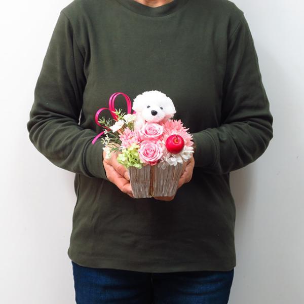 プリザーブドフラワー バラ フラワーアレンジメント 誕生日 花 誕生日プレゼント 女性 花 ギフト|sunmokusui55|06