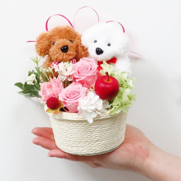 プリザーブドフラワー バラ フラワーアレンジメント 誕生日 花 誕生日プレゼント 女性 花 ギフト|sunmokusui55|07