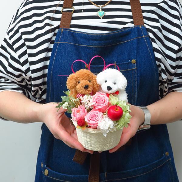プリザーブドフラワー バラ フラワーアレンジメント 誕生日 花 誕生日プレゼント 女性 花 ギフト|sunmokusui55|10