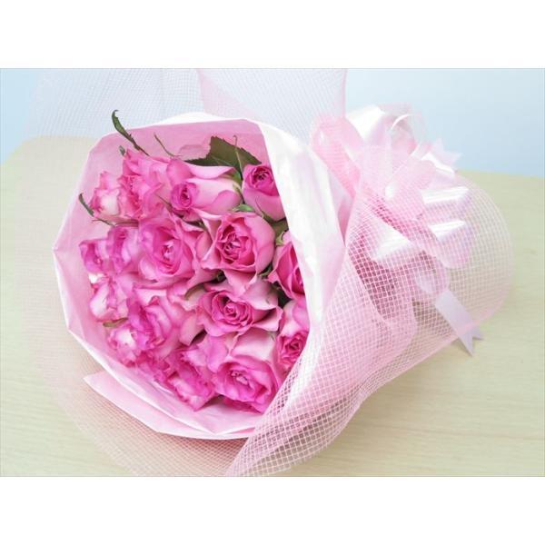 花 バラ 花束 薔薇 20本の花束 ブーケ 誕生日 プレゼント 女性|sunmokusui55|03