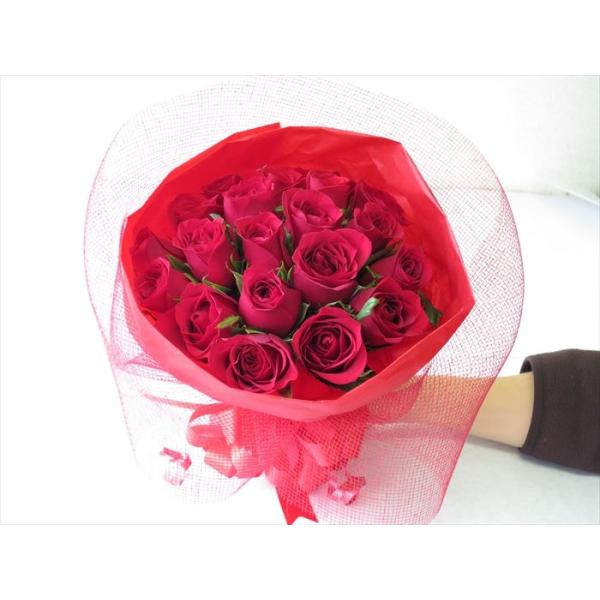 花 バラ 花束 薔薇 20本の花束 ブーケ 誕生日 プレゼント 女性|sunmokusui55|05