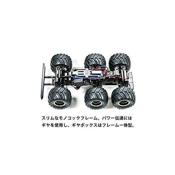タミヤ 1/18 電動RCカーシリーズ No.646 コングヘッド 6 × 6 (G6-01シャーシ) オフロード 58646|sunnybell|02