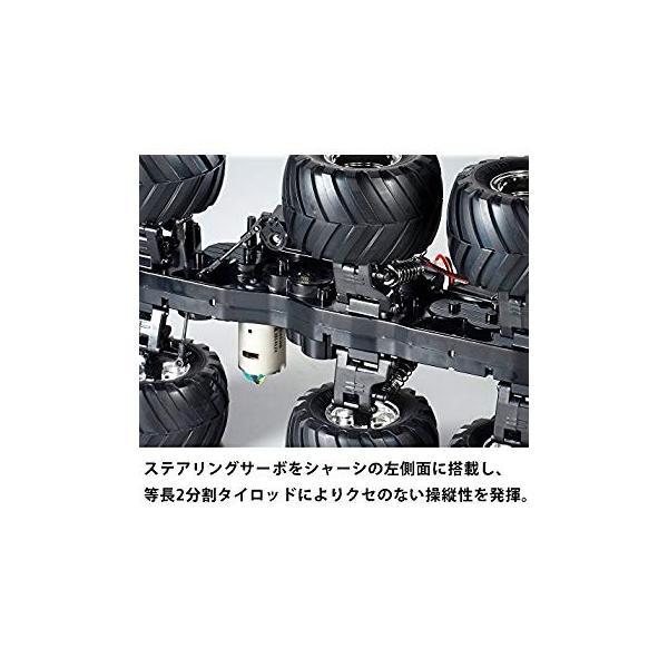 タミヤ 1/18 電動RCカーシリーズ No.646 コングヘッド 6 × 6 (G6-01シャーシ) オフロード 58646|sunnybell|03