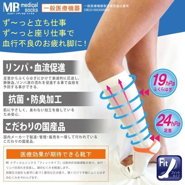 弾性ストッキング 着圧 メディカルソックス 医療用  ロングタイプ 一般医療機器|sunnystep|02