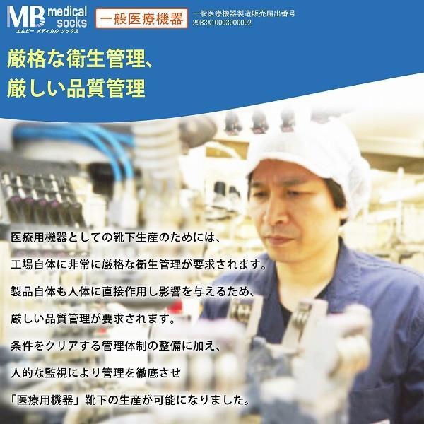 弾性ストッキング 着圧 メディカルソックス 医療用  ロングタイプ 一般医療機器|sunnystep|07