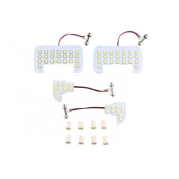ホンダ ステップワゴン RK1 RK2 ステップワゴン スパーダ RK5 RK6専用 LEDルームランプセット 3チップSMD74個 222発相当 専用工具付き|sunpie