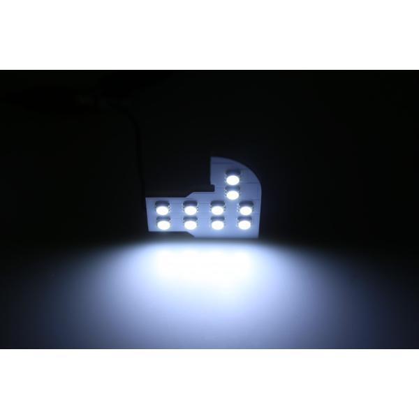 ホンダ ステップワゴン RK1 RK2 ステップワゴン スパーダ RK5 RK6専用 LEDルームランプセット 3チップSMD74個 222発相当 専用工具付き|sunpie|03