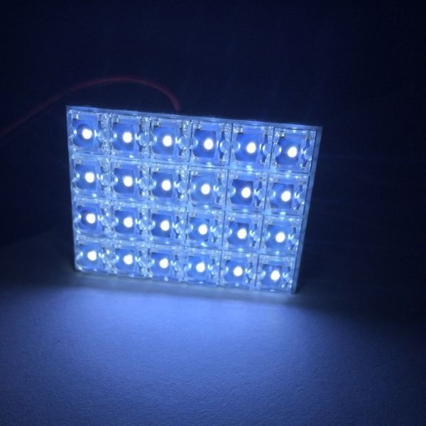 LED ルームランプ セット 室内灯 照明 TOYOTA  ノア/ヴォクシー 70系 ZRR70系 大型ランプ専用 FLUX LED  9点186発 ホワイト 取付工具付き sunpie 04