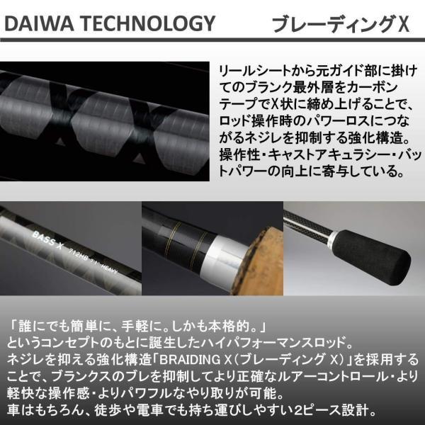 ダイワ(Daiwa) バスロッド スピニング バスX 632LS 釣り竿|sunrise-eternity|04