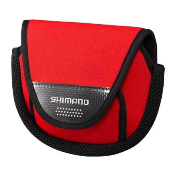 シマノ(SHIMANO) リールケース スピニング 2000-C3000用 リールガード PC-031L レッド S 785831