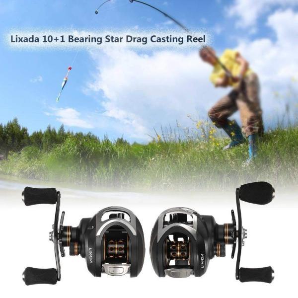 Lixada フィッシングリール 10 + 1ボール ベアリング6.3:1ギア比 右/左ハンド 選択可