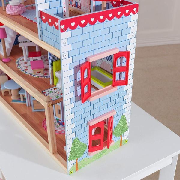 キッドクラフト チェルシー ドール コテージ こども ままごと 木製 ごっこ遊び KidKraft Chelsea Doll Cottage sunrise-eternity