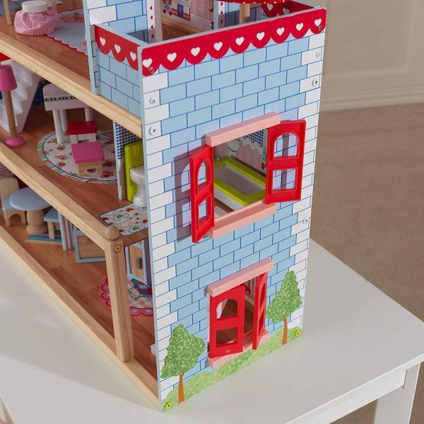 キッドクラフト チェルシー ドール コテージ こども ままごと 木製 ごっこ遊び KidKraft Chelsea Doll Cottage sunrise-eternity 11