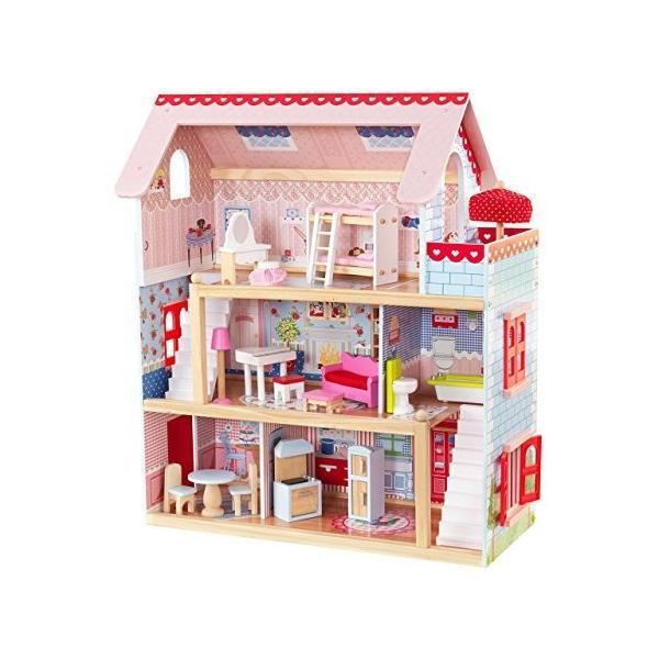 キッドクラフト チェルシー ドール コテージ こども ままごと 木製 ごっこ遊び KidKraft Chelsea Doll Cottage sunrise-eternity 13