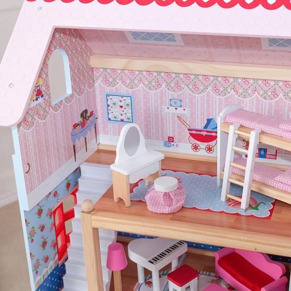キッドクラフト チェルシー ドール コテージ こども ままごと 木製 ごっこ遊び KidKraft Chelsea Doll Cottage sunrise-eternity 15