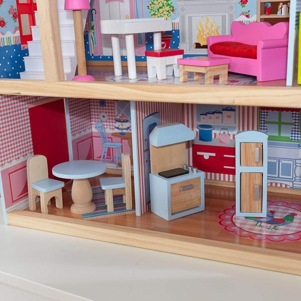 キッドクラフト チェルシー ドール コテージ こども ままごと 木製 ごっこ遊び KidKraft Chelsea Doll Cottage sunrise-eternity 06