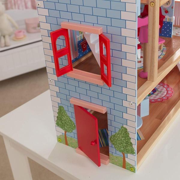 キッドクラフト チェルシー ドール コテージ こども ままごと 木製 ごっこ遊び KidKraft Chelsea Doll Cottage sunrise-eternity 07