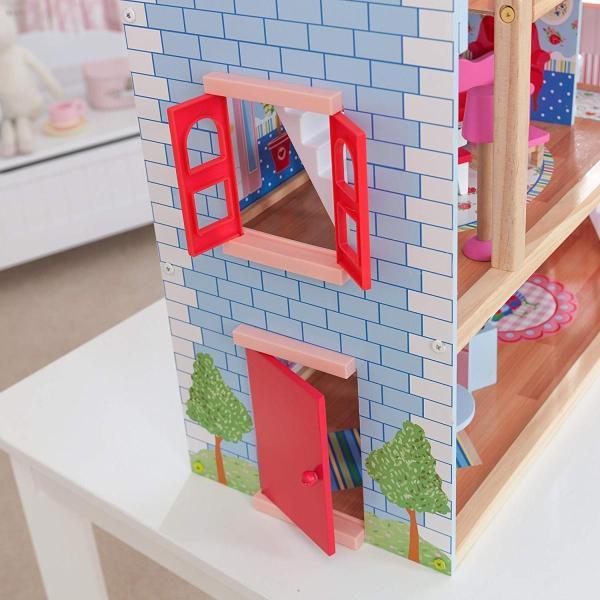 キッドクラフト チェルシー ドール コテージ こども ままごと 木製 ごっこ遊び KidKraft Chelsea Doll Cottage sunrise-eternity 09