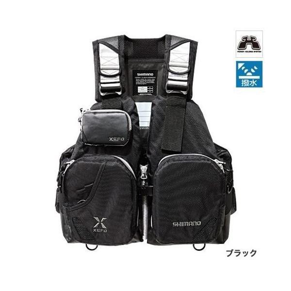 シマノ(SHIMANO) XEFO フローティングベスト タックルフロートジャケット (ベーシック) ブラック VF-272N フリーサイズ sunrise-eternity