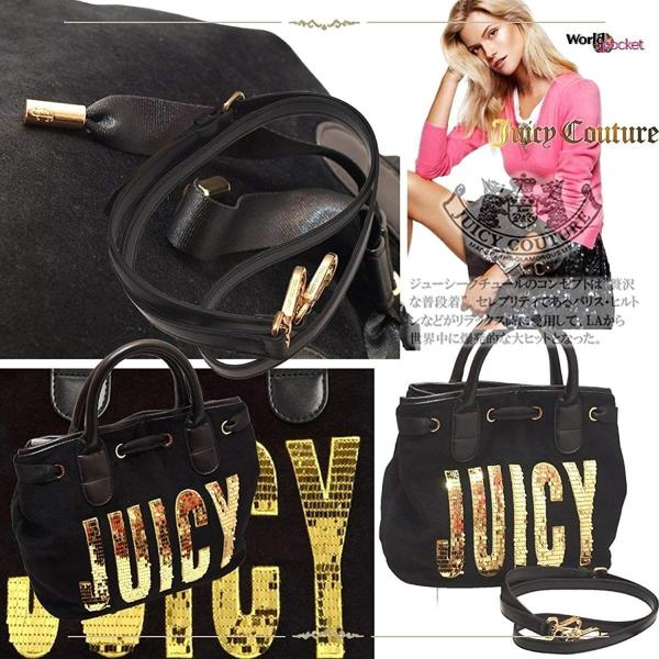 ジューシー クチュール Juicy Couture 国内未発売 ハンドバッグ ショルダーバッグ マザーズバック トートバッグ 斜め掛け 2