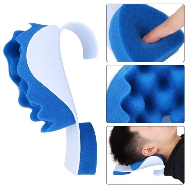 SoarUp 頸椎サポート 頸椎サポート枕 肩こり解消グッズ 健康枕 疲れを取り除く 肩こり対策 頭痛 改善 人間工学 低反発|sunrise-eternity|08