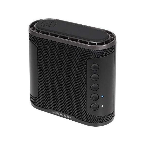 オーディオテクニカ Bluetoothワイヤレススピーカー(ブラック)audio-technica SOLID BASS AT-SBS50B