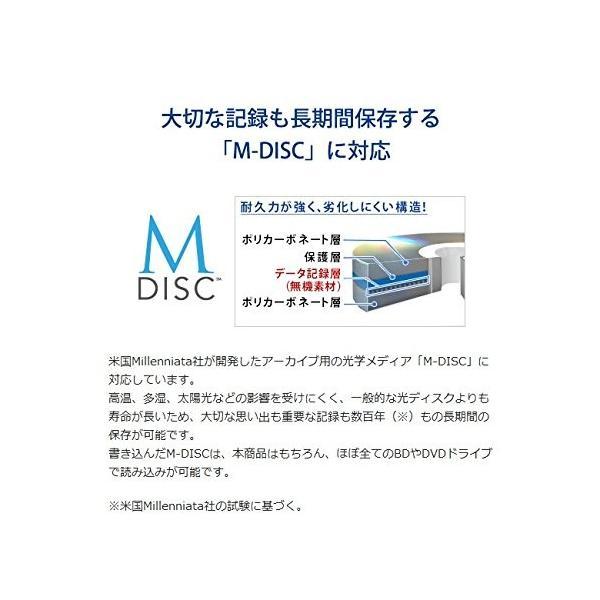 I-O DATA ブルーレイドライブ 外付型/USB 3.0/BDXL/M-DISC/16倍速高速書き込み BRD-UT16WX