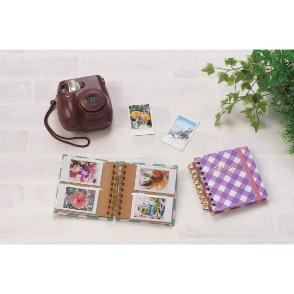 SEKISEI アルバム ポケット ハーパーハウス チェキポケットアルバム 40枚収容 チェキ/カード 21~50枚 ドット XP-1717